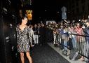 Al acto de inauguración asistieron algunas de las celebrities que participaron en los diversos calendarios de Pirelli, caso de la modelo española Inés Sastre.