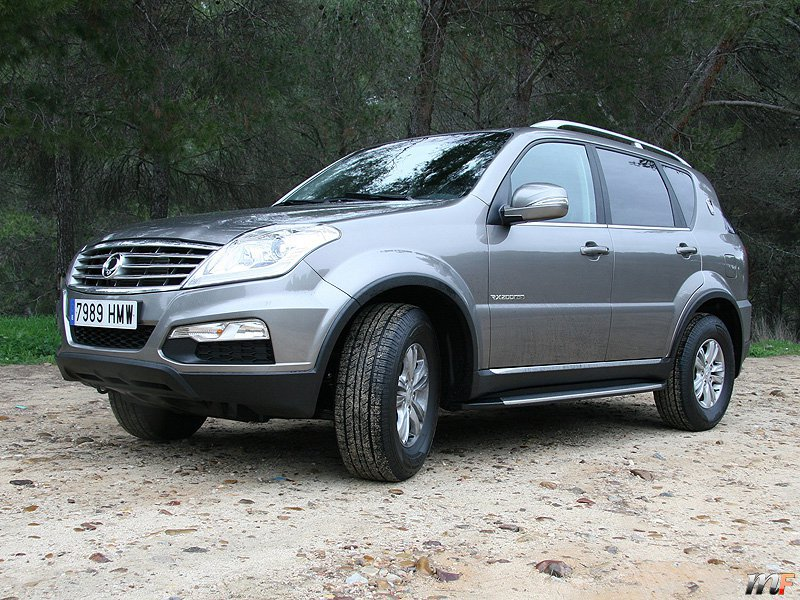 ssangyong rexton w motorfan. Black Bedroom Furniture Sets. Home Design Ideas