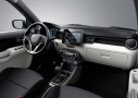 Suzuki Ignis: acabado interior color titaniummet