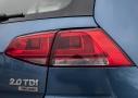 Volkswagen Golf 2.0 TDI CR 150 CV Sport 5p 4Motion: detalle óptica trasera