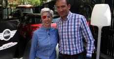 El director de Motorfan, Bienvenido Alcántara, el día que se presentó como embajadora de la marca Mini