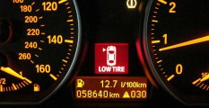 Control de presión de neumáticos en un BMW
