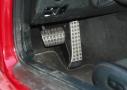 Mercedes AMG GT S: detalle pedalier
