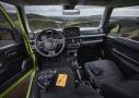 Suzuki Jimny: habitáculo